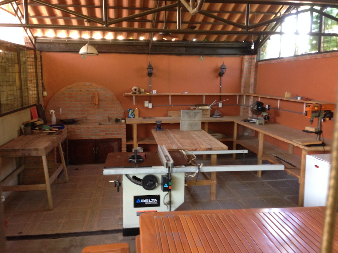 7 wood shop